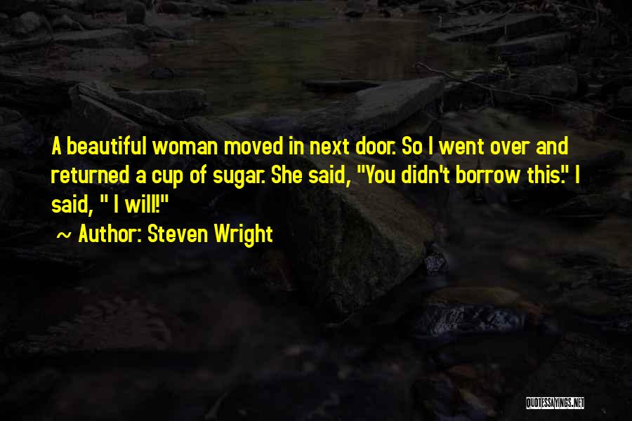 Funny I'm So Over You Quotes By Steven Wright