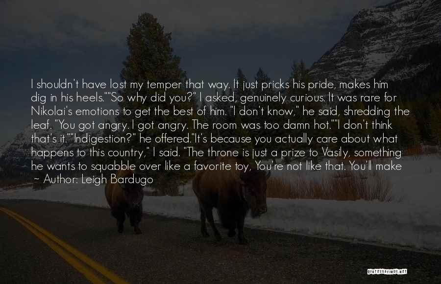 Funny In The Words Of Quotes By Leigh Bardugo