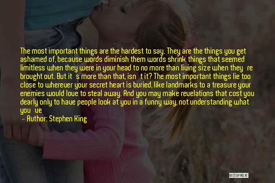 Funny In The Words Of Quotes By Stephen King