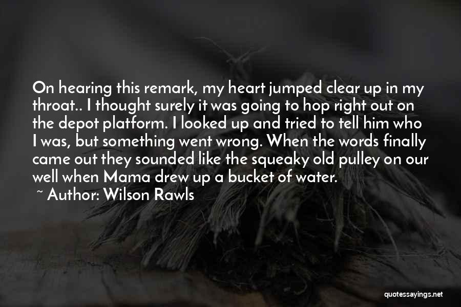 Funny In The Words Of Quotes By Wilson Rawls