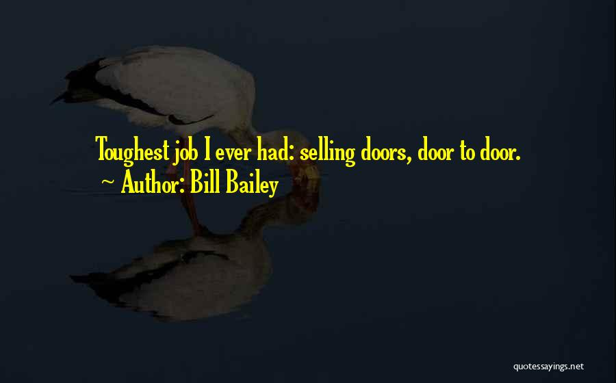 Funny Job Quotes By Bill Bailey