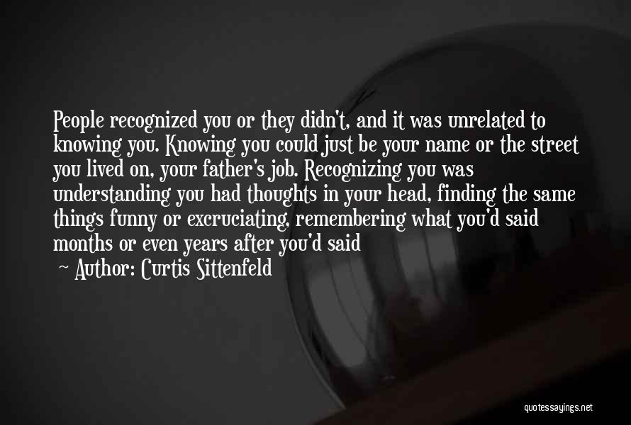 Funny Job Quotes By Curtis Sittenfeld