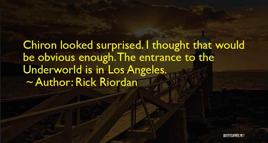 Funny Lightning Thief Quotes By Rick Riordan