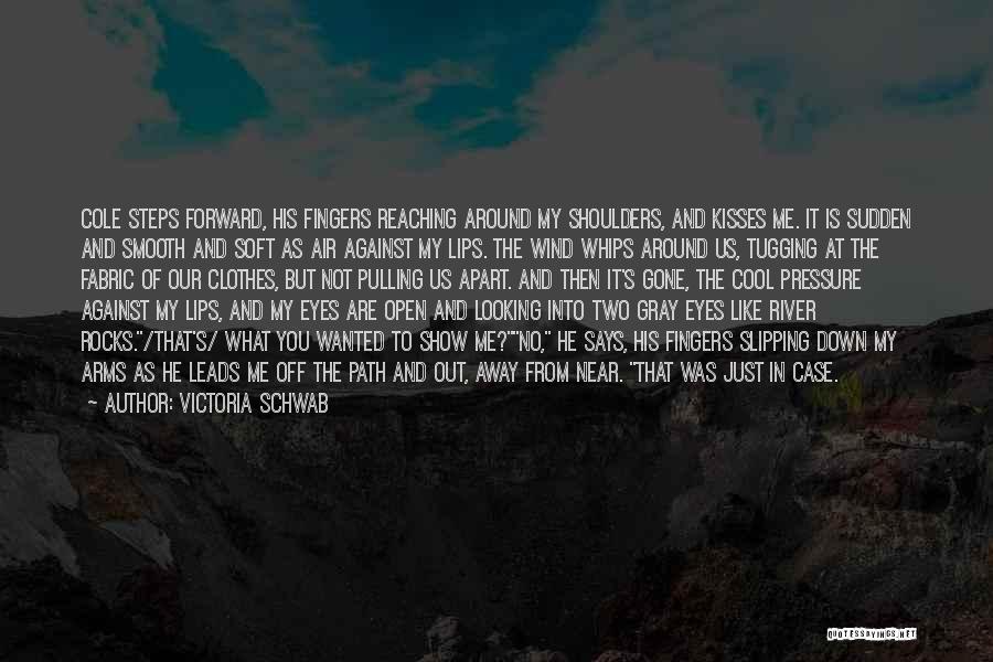 Funny Looking Forward Quotes By Victoria Schwab