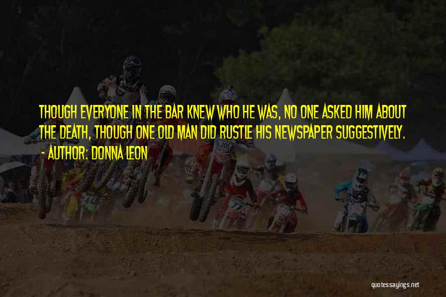 Funny Man U Quotes By Donna Leon
