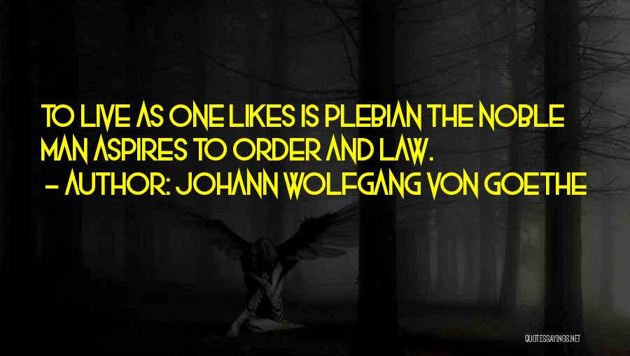 Funny Man U Quotes By Johann Wolfgang Von Goethe