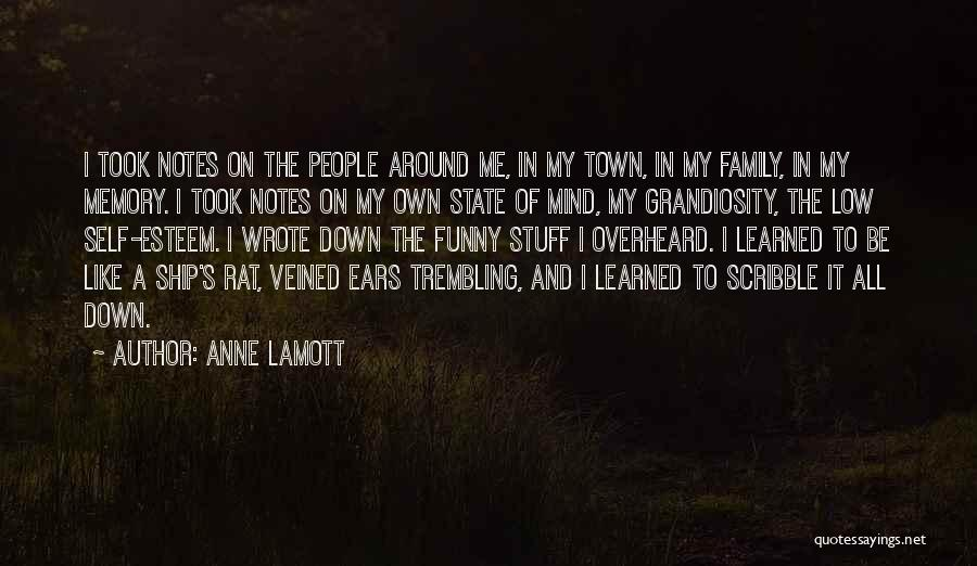 Funny Mind Quotes By Anne Lamott