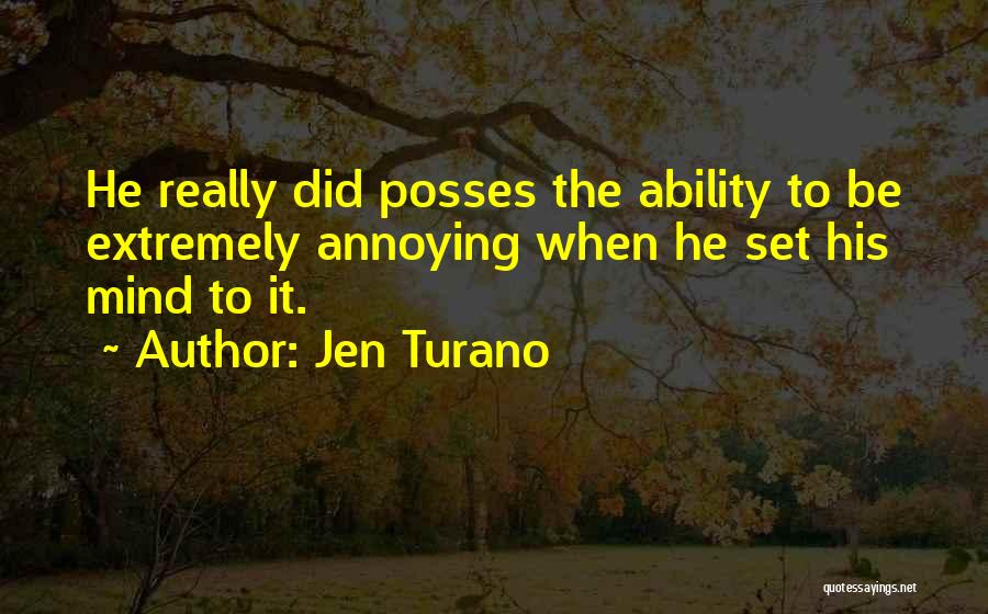 Funny Mind Quotes By Jen Turano