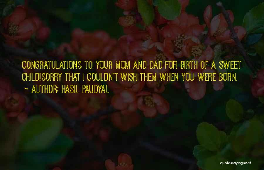 Funny Mom Quotes By Hasil Paudyal