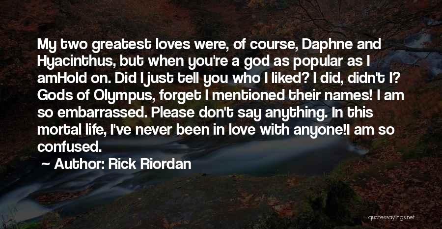 Funny Most Popular Quotes By Rick Riordan