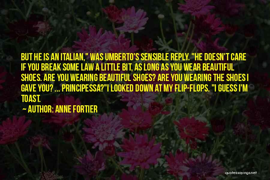 Funny No Reply Quotes By Anne Fortier