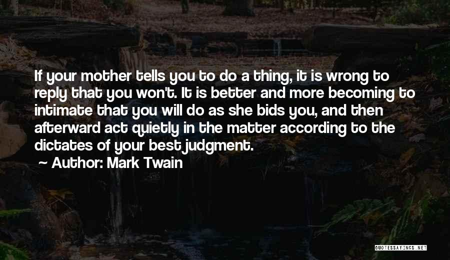 Funny No Reply Quotes By Mark Twain