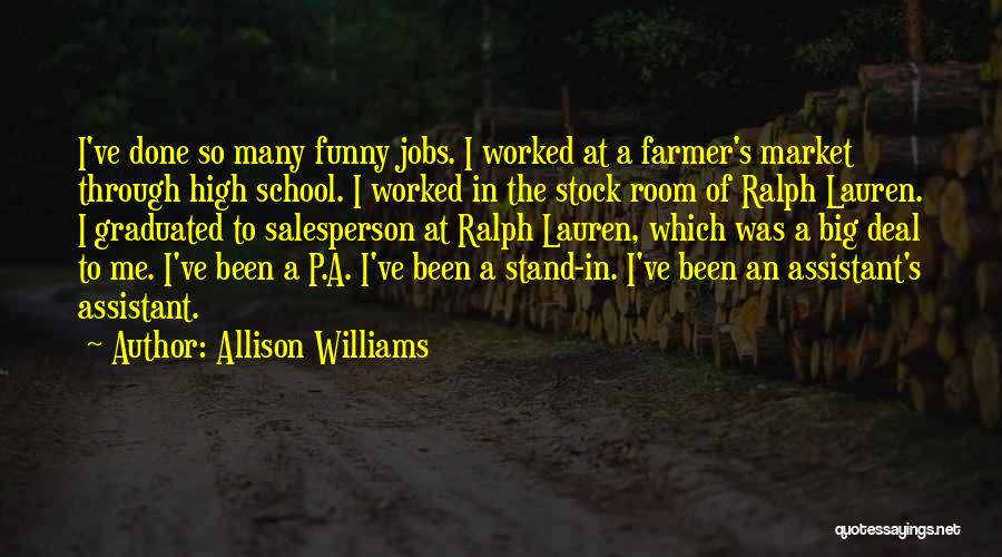 Funny P.s Quotes By Allison Williams