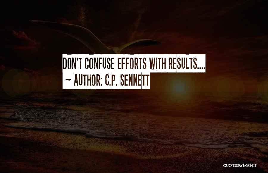 Funny P.s Quotes By C.P. Sennett