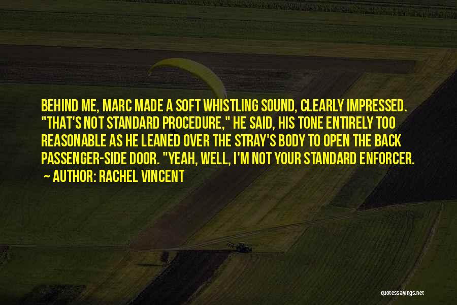 Funny Passenger Quotes By Rachel Vincent
