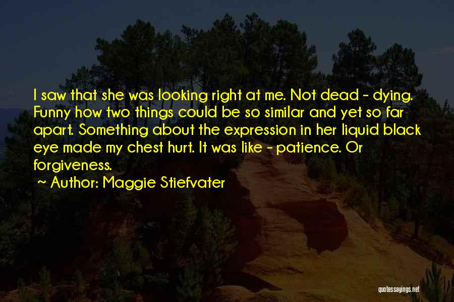 Funny Patience Quotes By Maggie Stiefvater