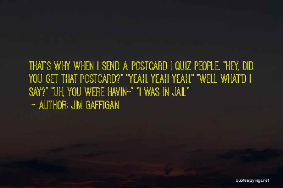 Funny Postcard Quotes By Jim Gaffigan