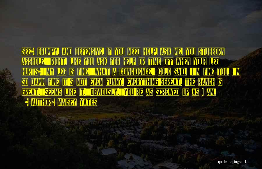 Funny Ranch Quotes By Maisey Yates