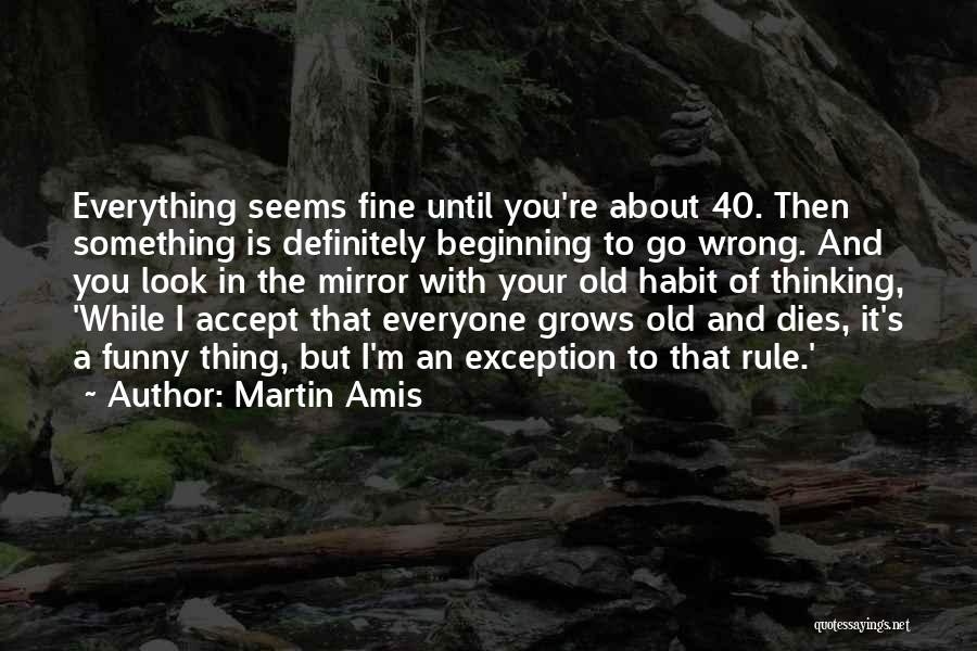 Funny Rule Quotes By Martin Amis