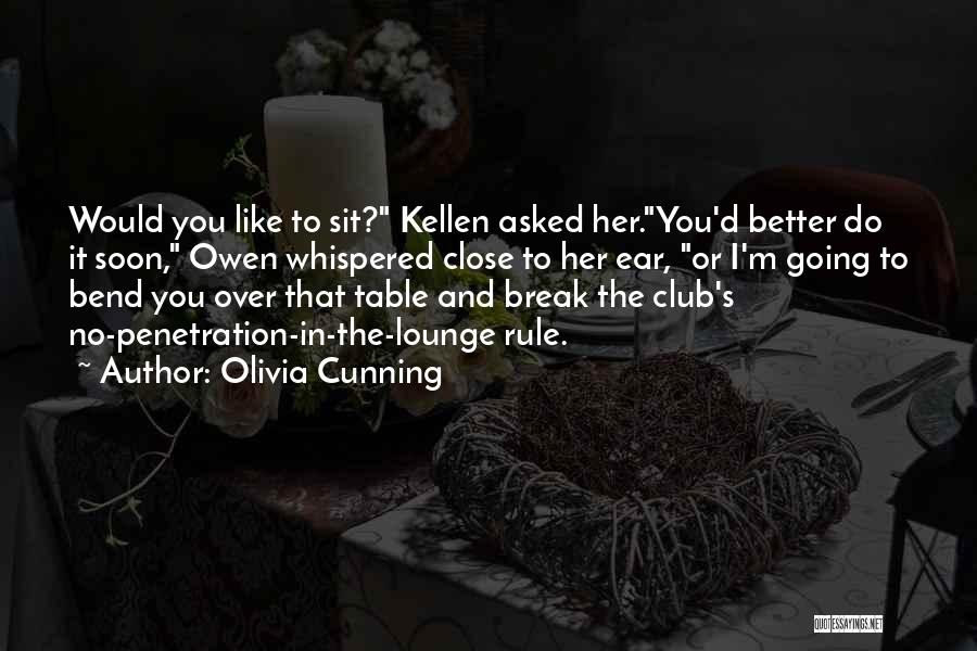 Funny Rule Quotes By Olivia Cunning