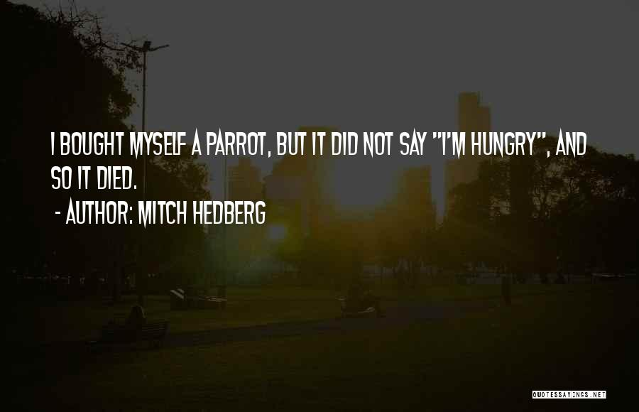Funny Say And Quotes By Mitch Hedberg