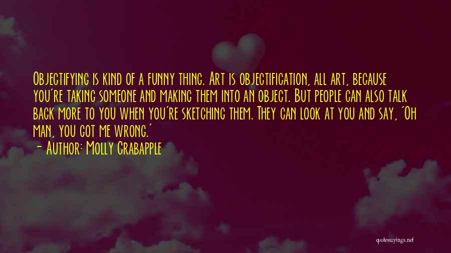 Funny Say And Quotes By Molly Crabapple