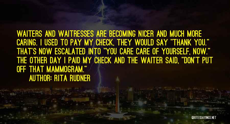 Funny Say And Quotes By Rita Rudner