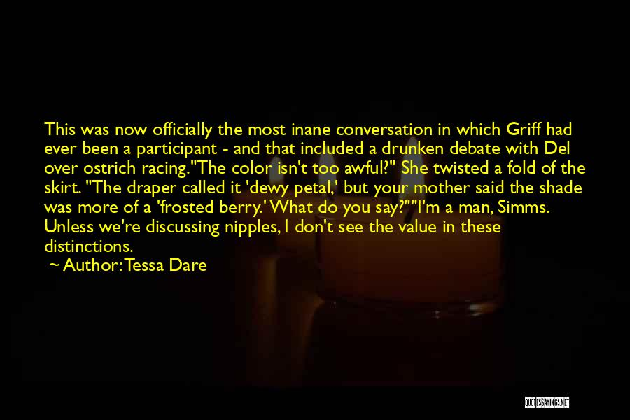Funny Say And Quotes By Tessa Dare