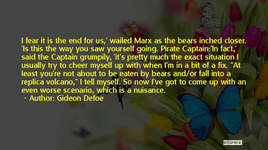 Funny Scenario Quotes By Gideon Defoe
