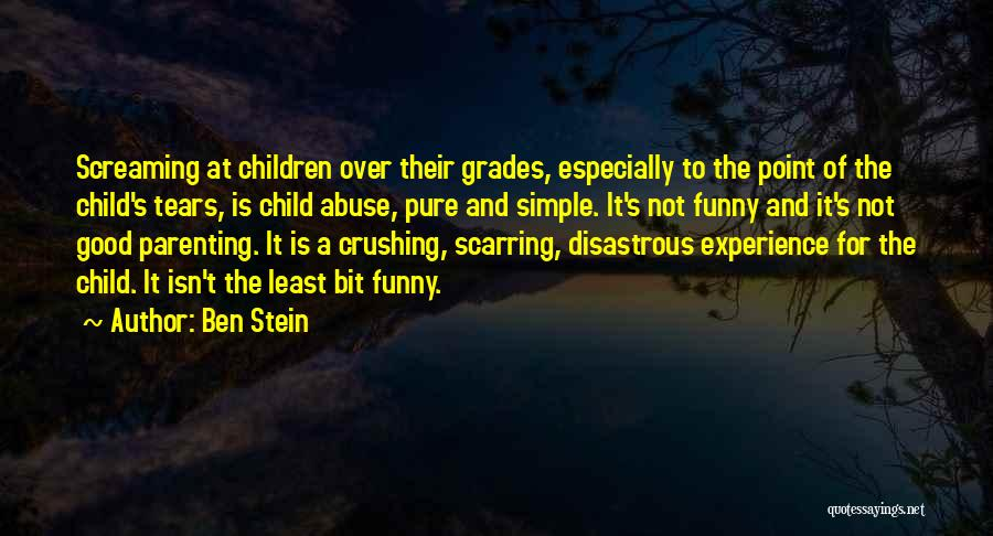 Funny School's Over Quotes By Ben Stein