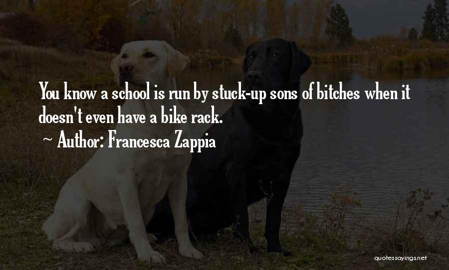 Funny School's Over Quotes By Francesca Zappia