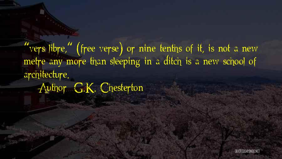 Funny School's Over Quotes By G.K. Chesterton