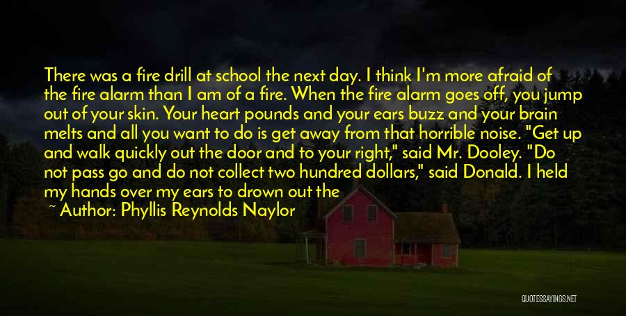Funny School's Over Quotes By Phyllis Reynolds Naylor