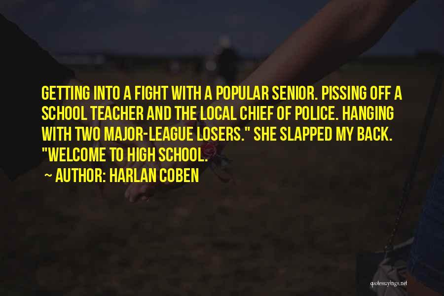 Funny Senior Quotes By Harlan Coben