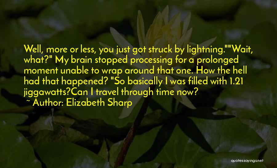Funny Sharp Quotes By Elizabeth Sharp