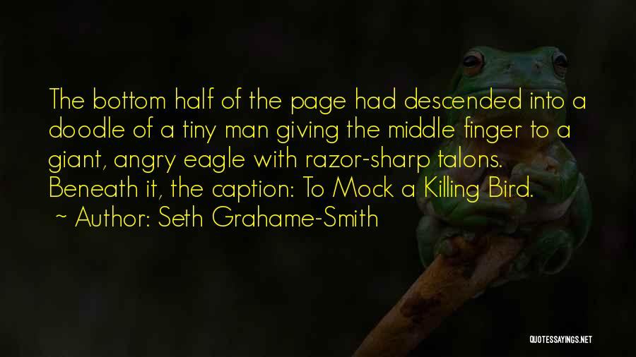 Funny Sharp Quotes By Seth Grahame-Smith