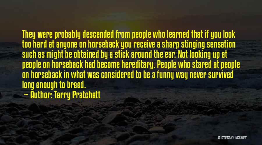 Funny Sharp Quotes By Terry Pratchett