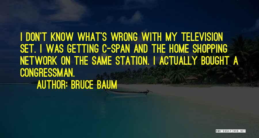 Funny Shopping Quotes By Bruce Baum