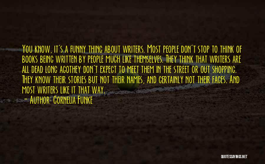 Funny Shopping Quotes By Cornelia Funke