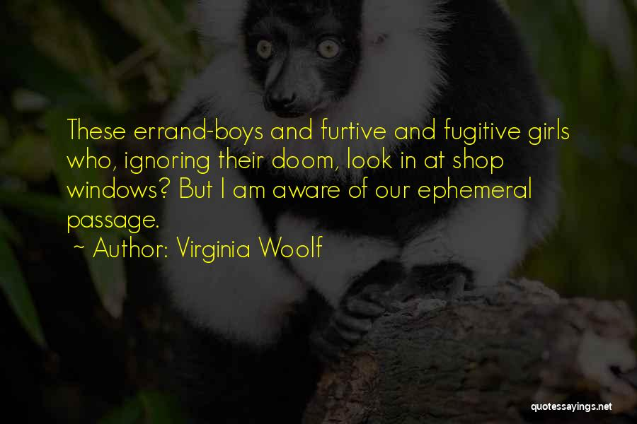 Funny Shopping Quotes By Virginia Woolf
