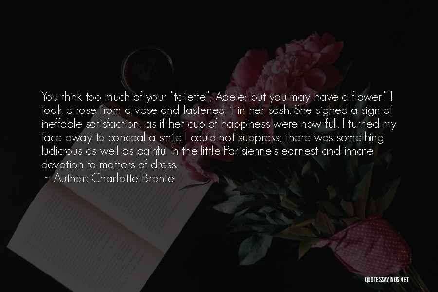 Funny Sign In Quotes By Charlotte Bronte