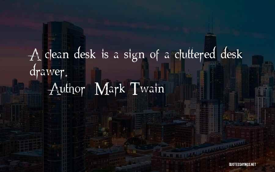 Funny Sign In Quotes By Mark Twain
