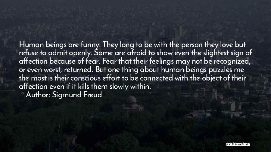 Funny Sign In Quotes By Sigmund Freud