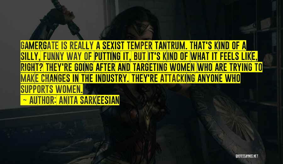 Funny Silly Quotes By Anita Sarkeesian