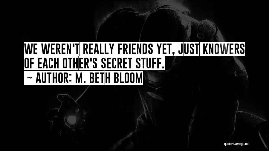 Funny Silly Quotes By M. Beth Bloom