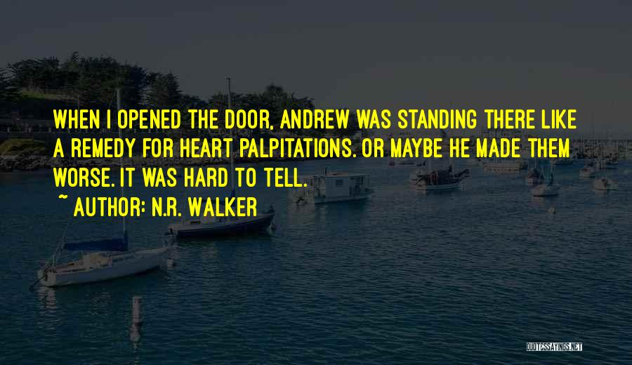 Funny Silly Quotes By N.R. Walker