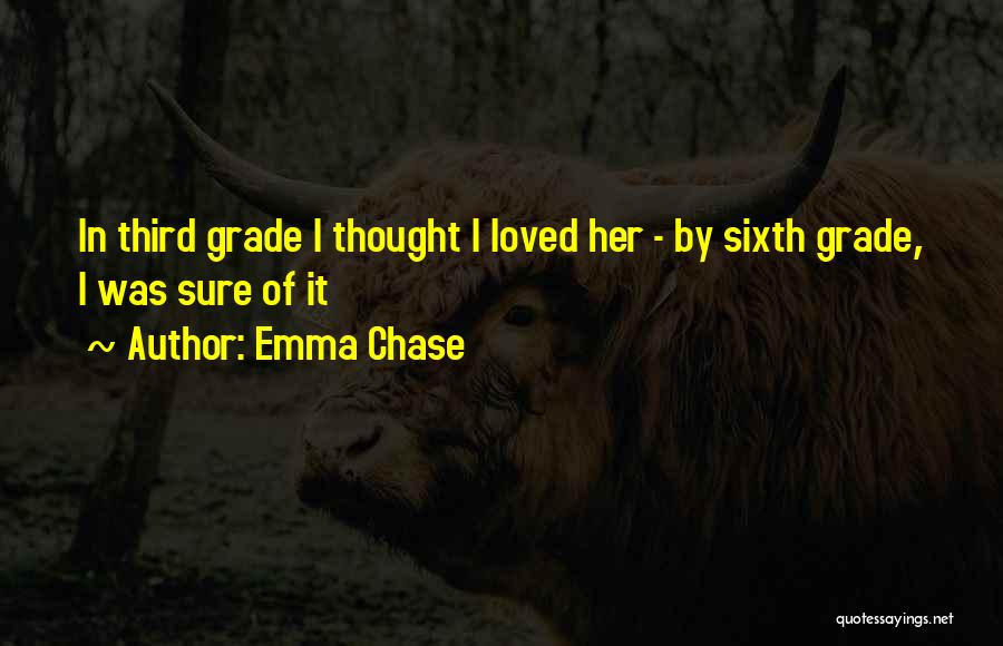 Funny Sixth Grade Quotes By Emma Chase