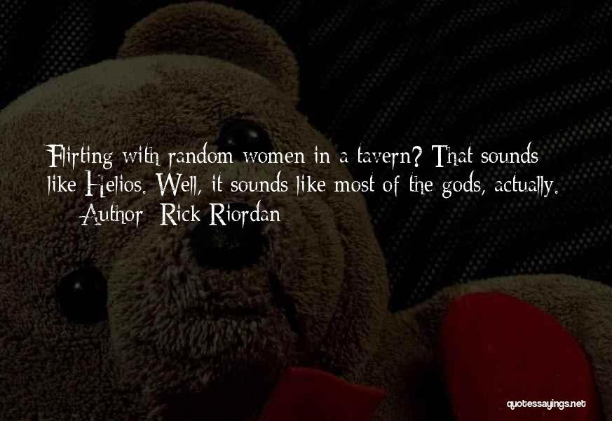 Funny Tavern Quotes By Rick Riordan