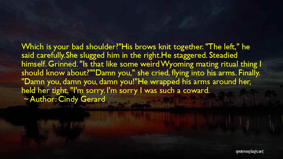 Funny Thing About Quotes By Cindy Gerard