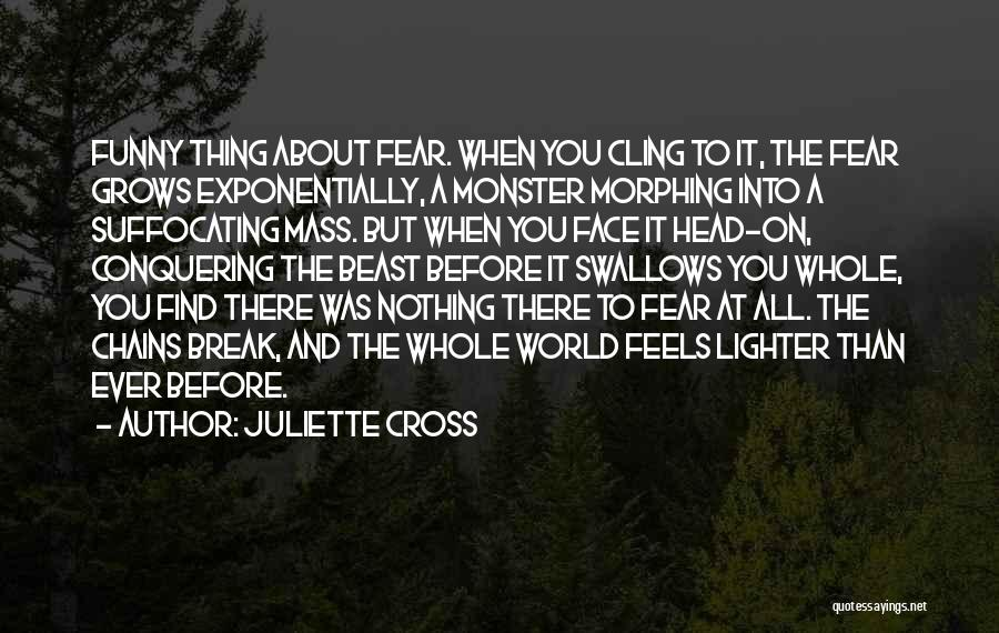 Funny Thing About Quotes By Juliette Cross